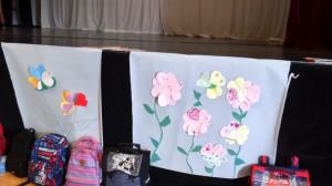 fleurs 1 célébration école Jeanne d'arc Sully