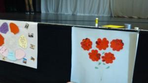fleurs 2 célébration école jeanne d'arc Sully