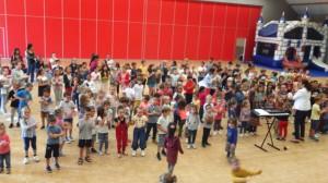 célébration école Jeanne d'arc Sully