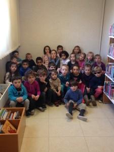 photo bibliothèque école Jeanne d'arc Sully 1