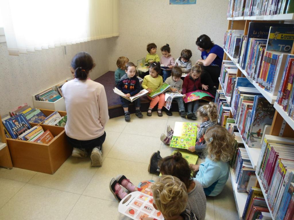 Ecole jeanne d'arc PS Bibliothèque 2